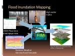 flood inundation mapping