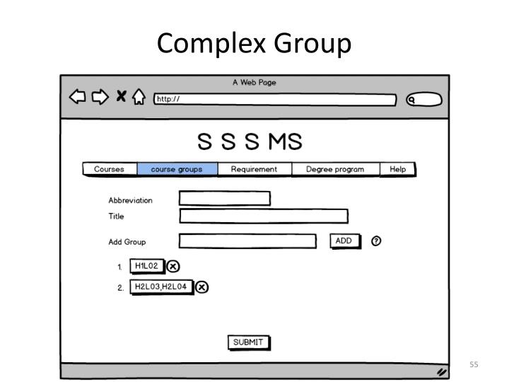 Complex Group