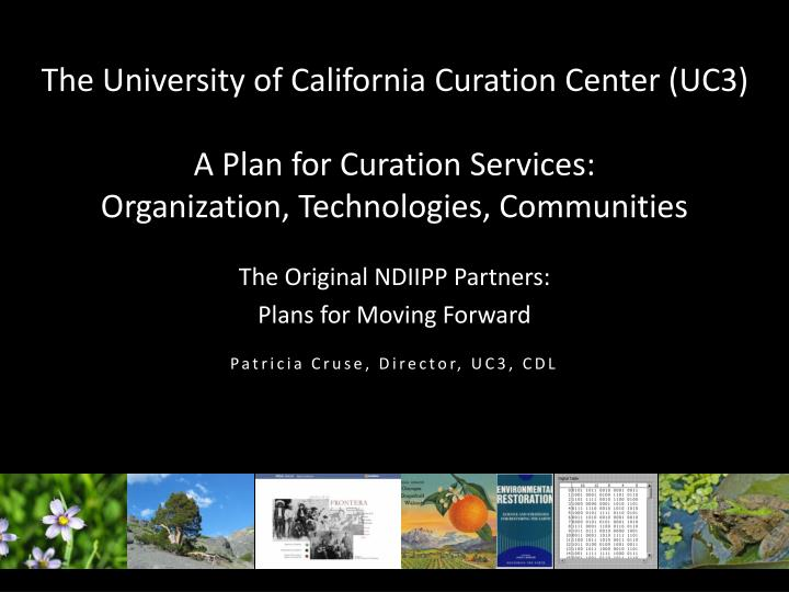 The University of California Curation Center (UC3)