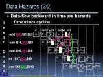 data hazards 2 2