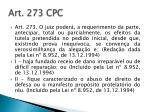 art 273 cpc