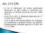 art 273 cpc2