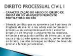 direito processual civil i7