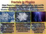 fractals in physics