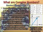 what are complex numbers