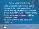 kucc catchment area