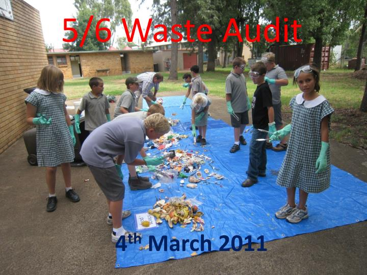 5 6 waste audit n.