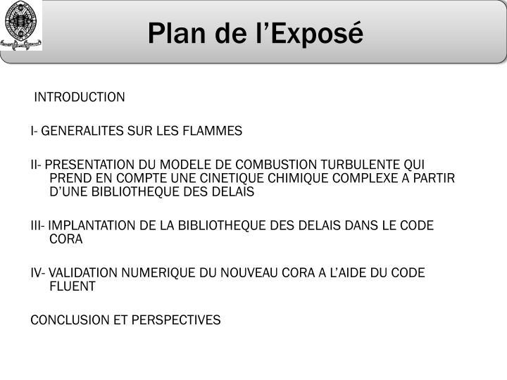 Plan de l expos