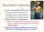 beneatha s identity