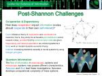 post shannon challenges4