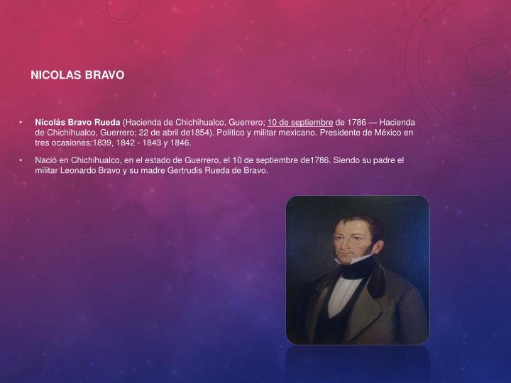 Nicolas Bravo