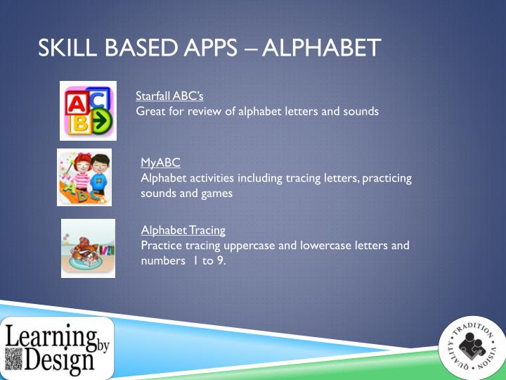 Skill Based apps – Alphabet