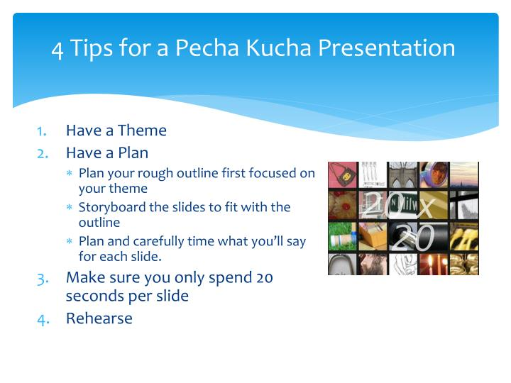 pecha kucha powerpoint template - ppt ideas for video projects powerpoint presentation