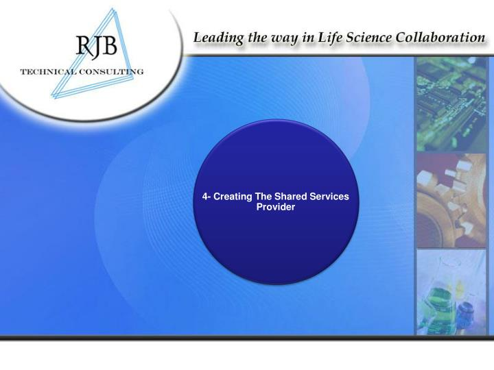 4- Creating The Shared Services Provider