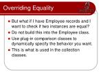 overriding equality1