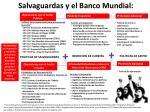 salvaguardas y el banco mundial