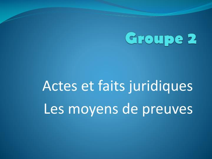 groupe 2 n.