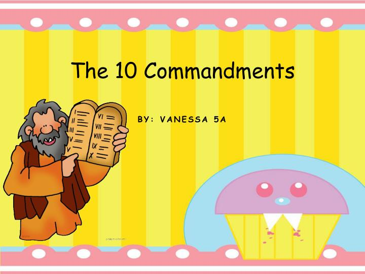 the 10 commandments n.