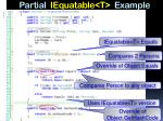 partial iequatable t example