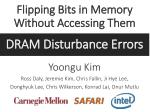flipping bits in memory without accessing them