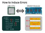 how to induce errors1
