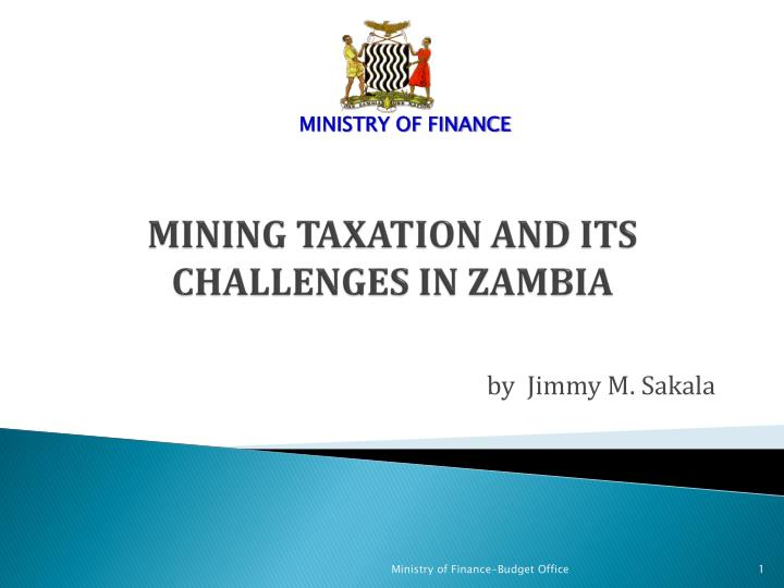 mining taxation and its challenges in zambia n.