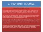 a dignidade humana2