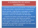 a ilumina o do novo testamento1