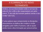 a ilumina o do novo testamento11