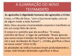 a ilumina o do novo testamento15