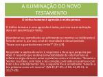a ilumina o do novo testamento16