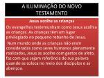a ilumina o do novo testamento9