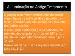 a ilumina o no antigo testamento3