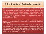 a ilumina o no antigo testamento9