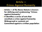 article 7 crimes against humanity