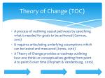 theory of change toc