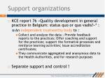 support organizations1