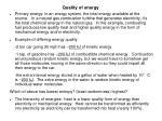 quality of energy