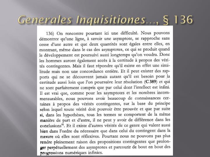 Generales Inquisitiones