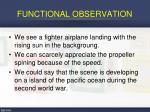 functional observation