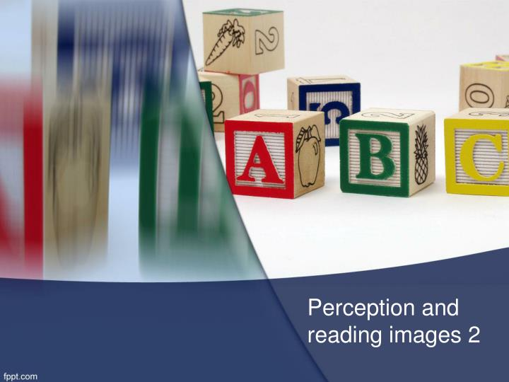 perception and reading images 2 n.