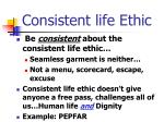 consistent life ethic1