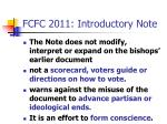 fcfc 2011 introductory note3