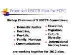 proposed usccb plan for fcfc