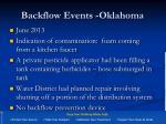 backflow events oklahoma3