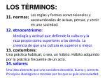 los t rminos3