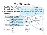 traffic matrix