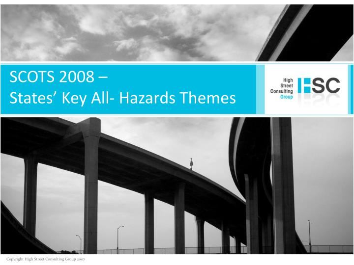 scots 2008 states key all hazards themes n.