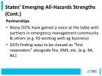 states emerging all hazards strengths cont1