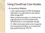 using cloudcmp case studies1